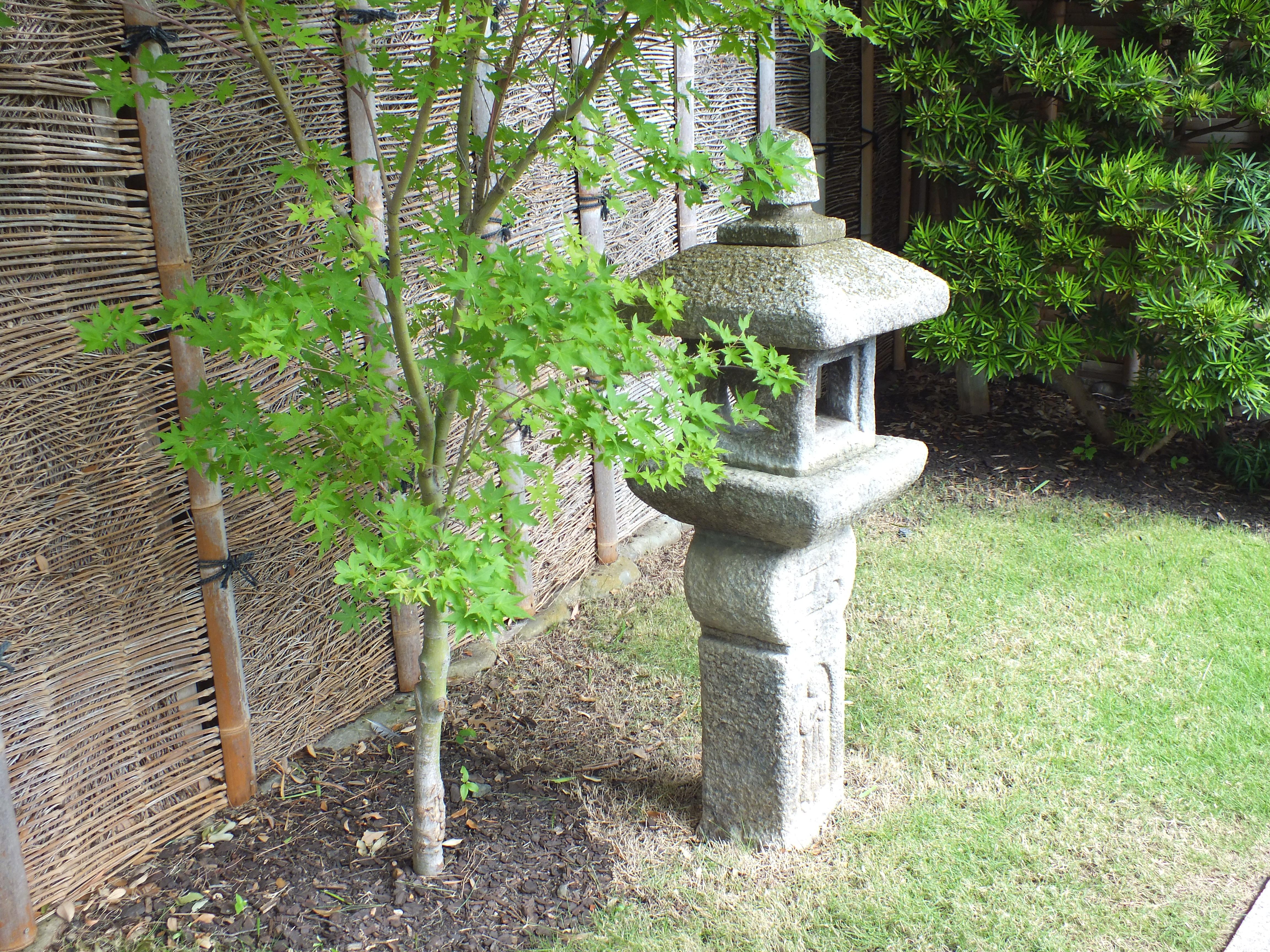 Kumamoto en in san antonio texas u s japanese gardens for Japanese landscape lanterns