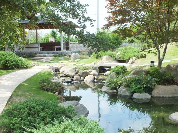 Kumamoto en in san antonio texas u s japanese gardens for Fishing ponds in san antonio