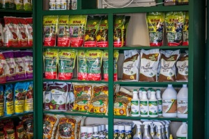 a sampling of products carried in the store (photo by Bill F. Eger)