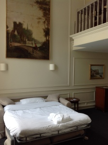 St. James Albany second floor suite with downstairs bedroom and mezzanine bedroom
