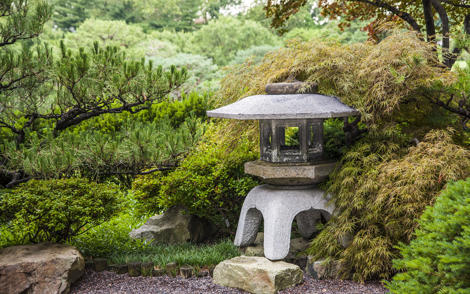 Seiwa en Garden of pure clear harmony and peace in St Louis