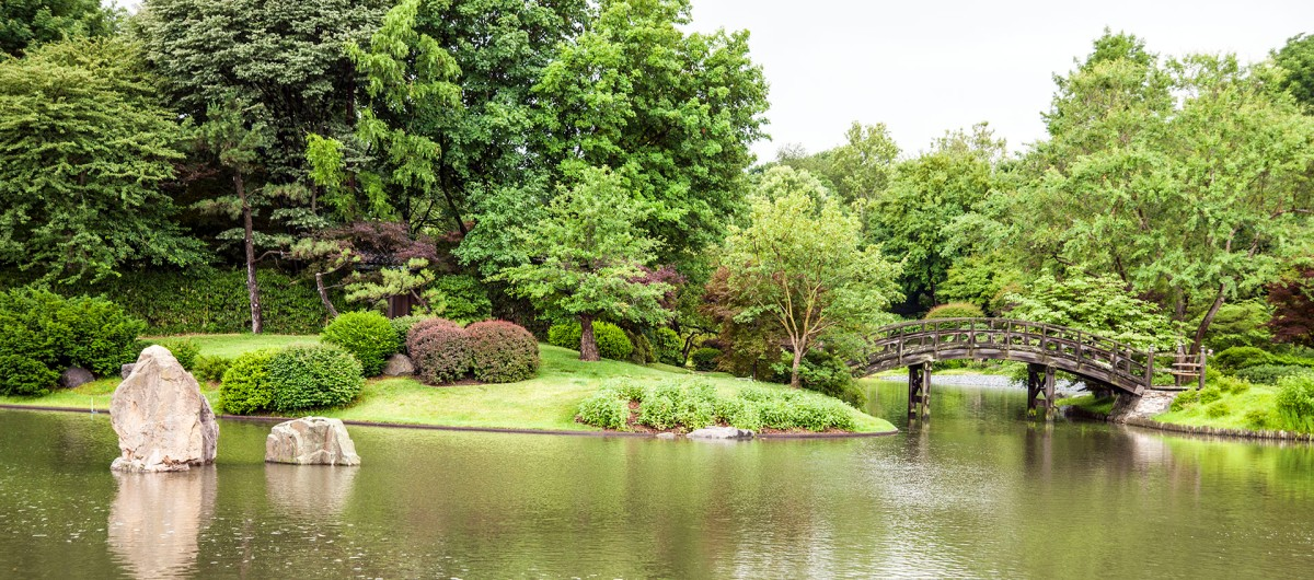 seiwa en garden of pure clear harmony and peace in st louis us japanese gardens - Botanical Garden St Louis