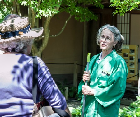 Edie Rowell at Shoin House