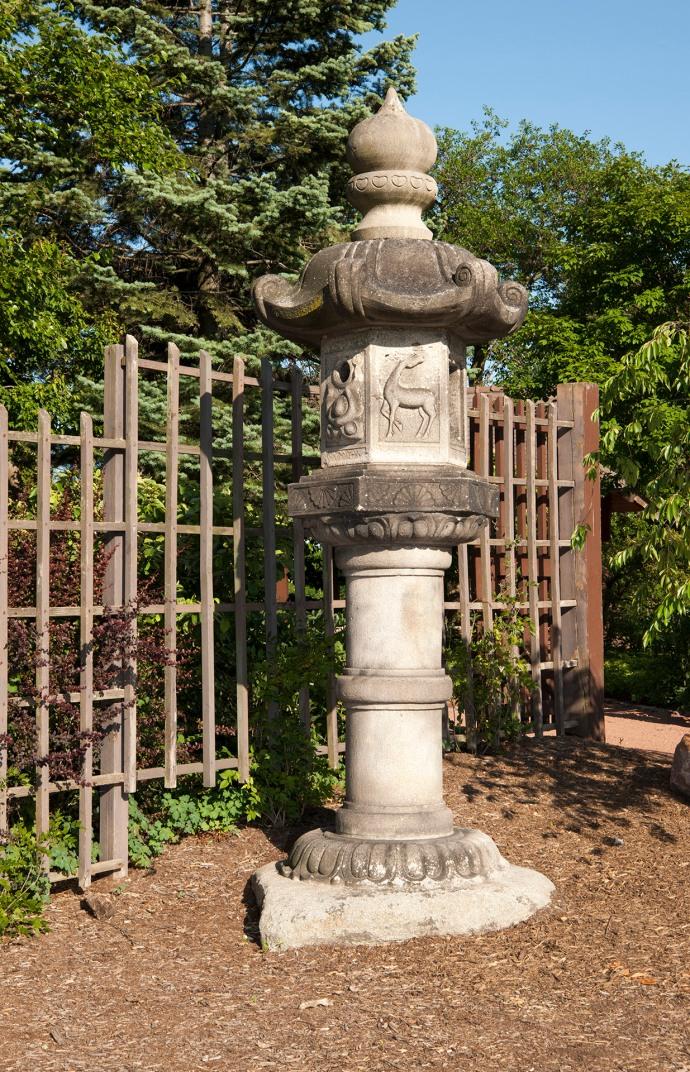 lantern US Japanese Gardens