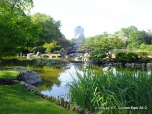 Osaka Garden pond