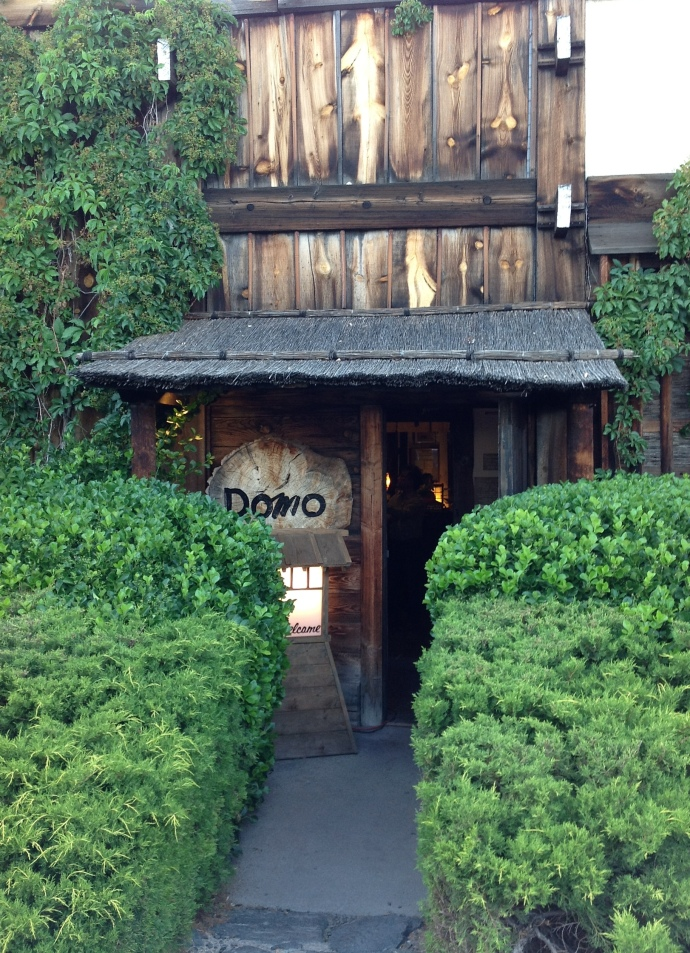 entrance to Domo