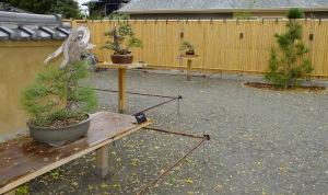 Hosokawa courtyard
