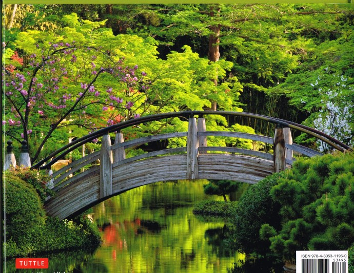 back cover photo by David Cobb of the Japanese garden at Fort Worth Botanic Garden in Texas