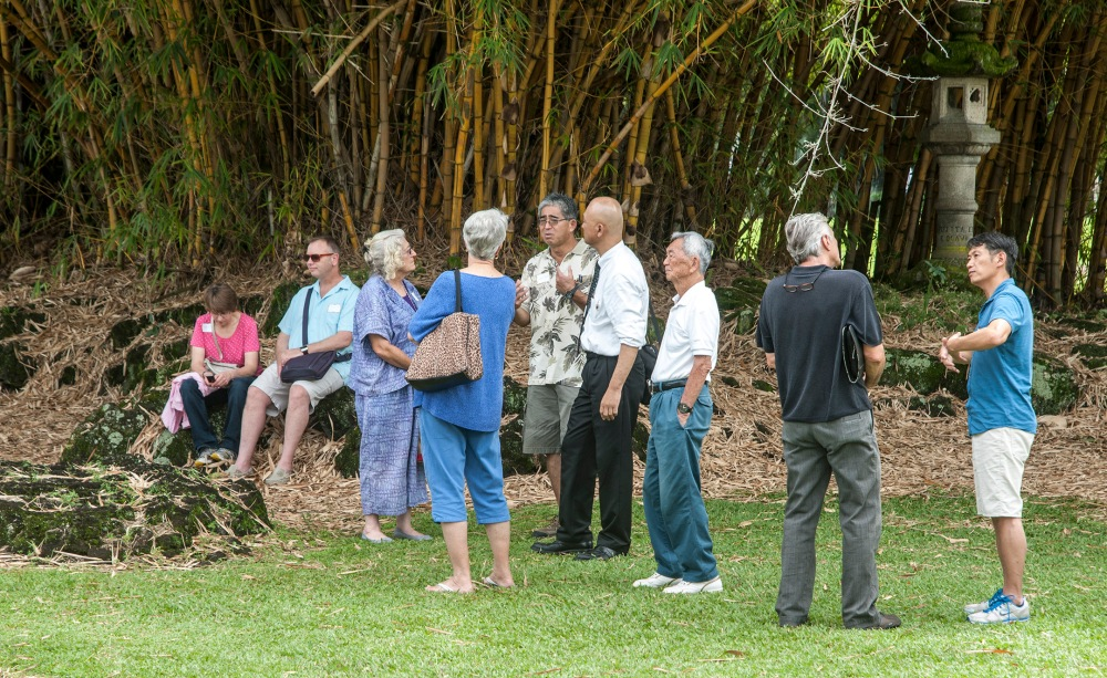 Enthusiastic Denver garden curator tours Hilo's Lili`uokalani Gardens (6/6)