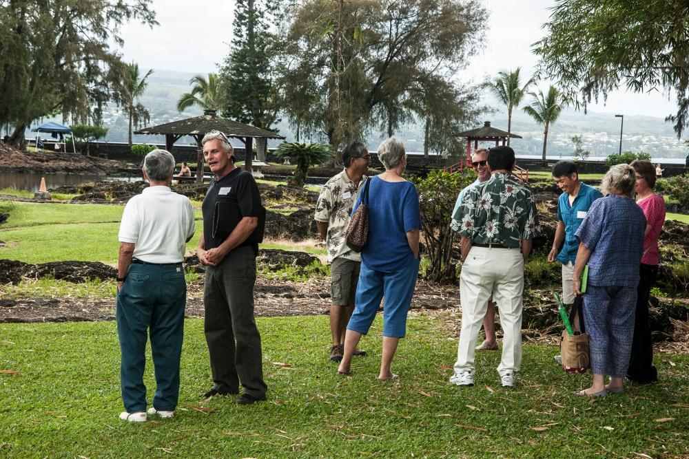 Enthusiastic Denver garden curator tours Hilo's Lili`uokalani Gardens (5/6)